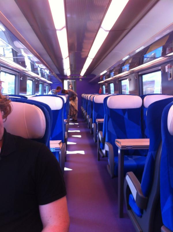 Eerste reizigersrit Fyra V250 een feit - Treinenweb